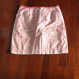 Lilly pulitzer skirt size 12